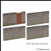 FARISH 42-288 Low Relief Urban Stone walling * PRE ORDER £ 11.35 *